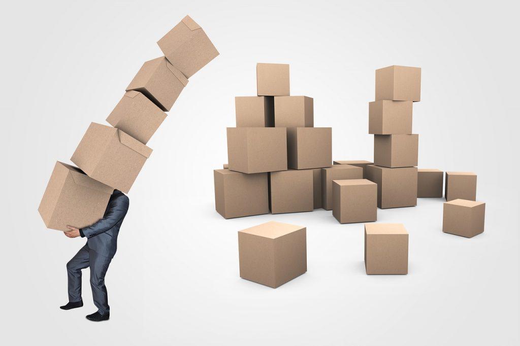 Chaotische Logistik (Symbolbild; Quelle: pixabay)